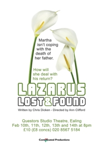 Lazarus Lost & Found Promotional Flyer