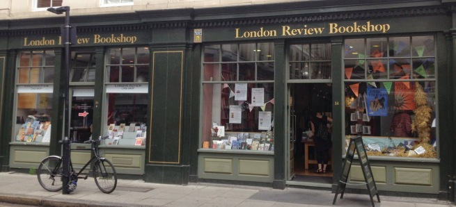London Review bookshop exterior